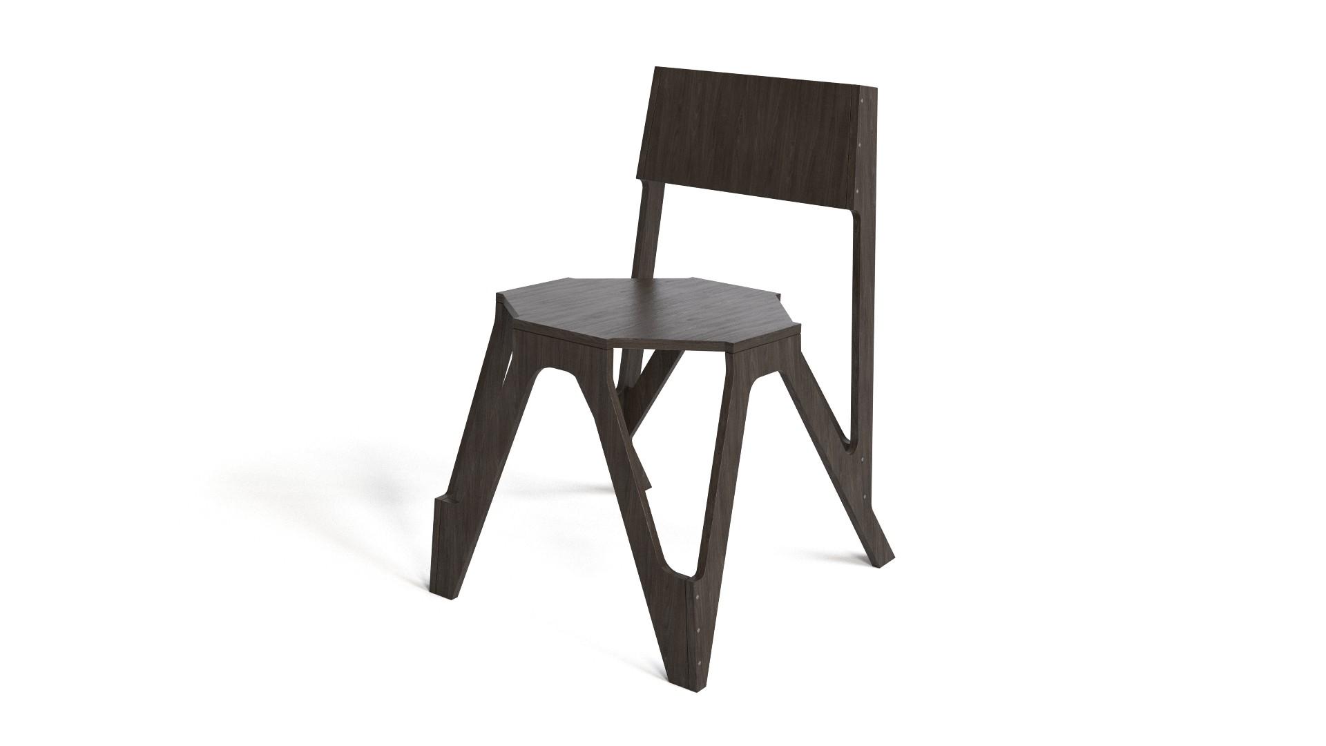 JDS - Wood chair
