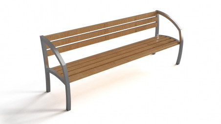 Bench – steel & wood