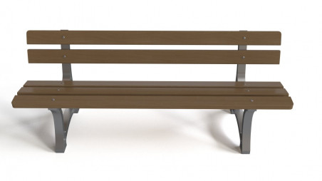 Old exterior bench