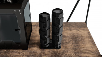 Shelves with 3D Printer