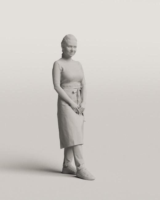 3D people - Waitress vol.06/10