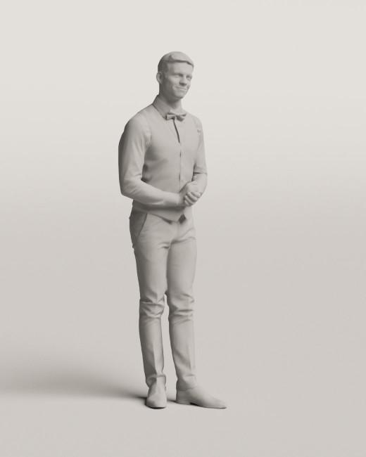 3D people - Waiter vol.06/19