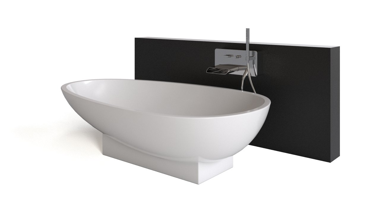 Charmant Agape Spoon Bathtub