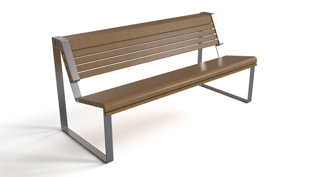 Picture of: Bench Wood And Steel Flyingarchitecture