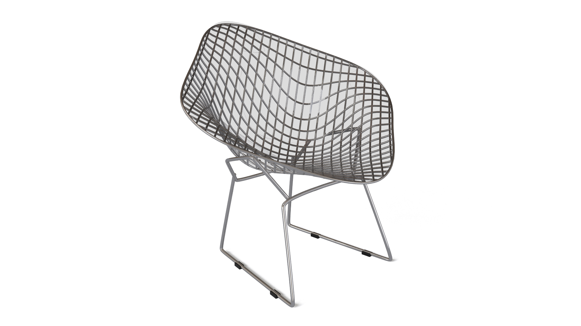 chaise diamond bertoia beautiful couleurs prsentation de chaise diamond style harry bertoia. Black Bedroom Furniture Sets. Home Design Ideas
