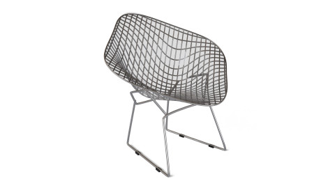 Bertoia diamond lounge seating