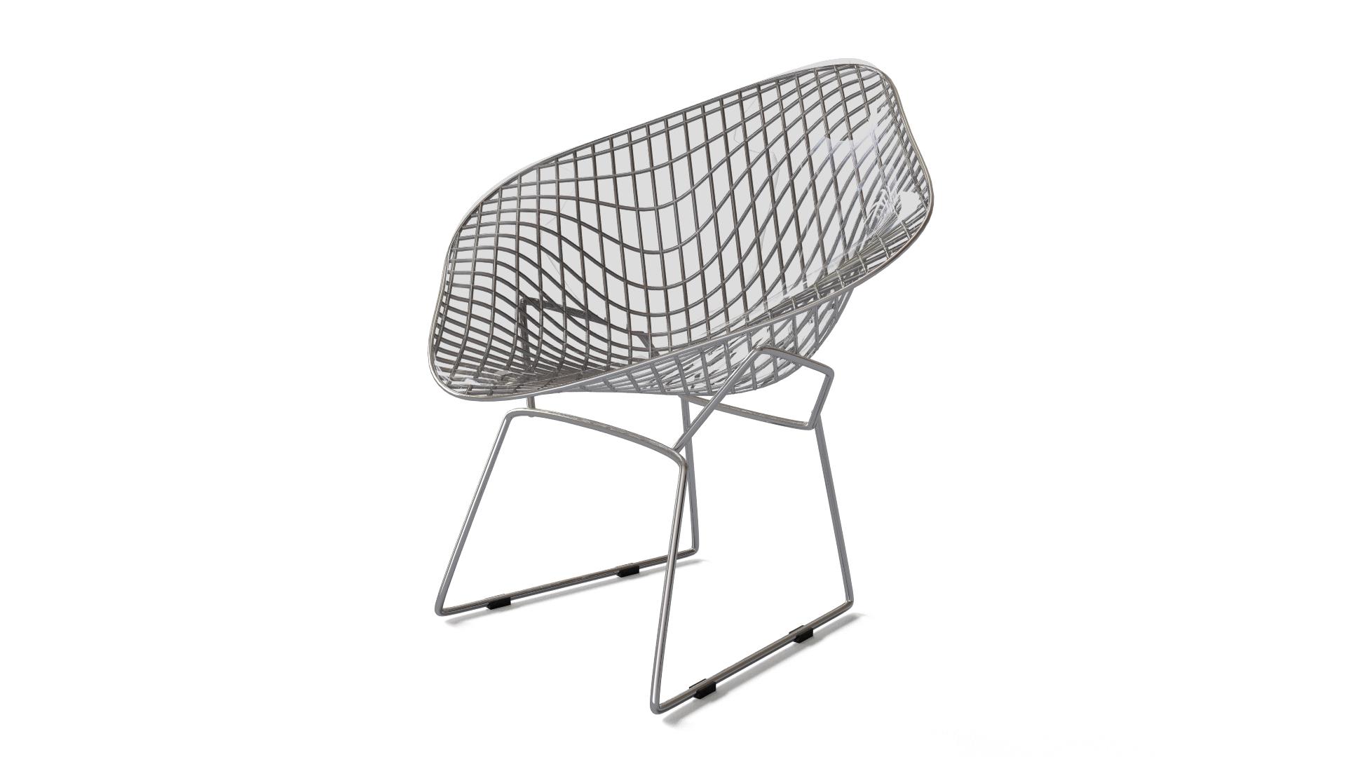 Bertoia diamond lounge seating