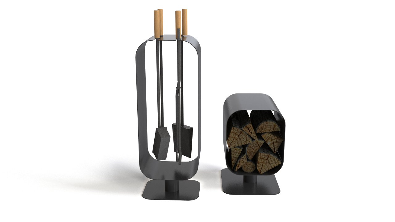 Blomus fireplace accessories | FlyingArchitecture