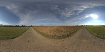 Free daylight HDRI panorama