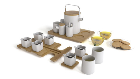 Coffee and tea set