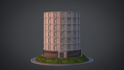 Neoclassical facade - A02
