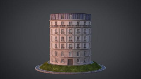 Neoclassical facade - A04