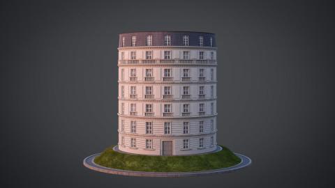 Neoclassical facade - A05