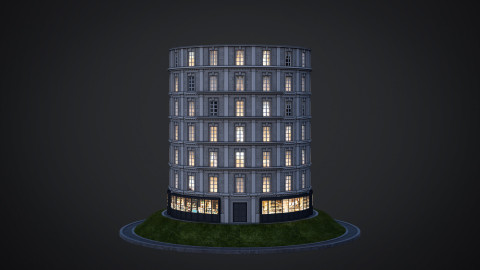Neoclassical facade - A01