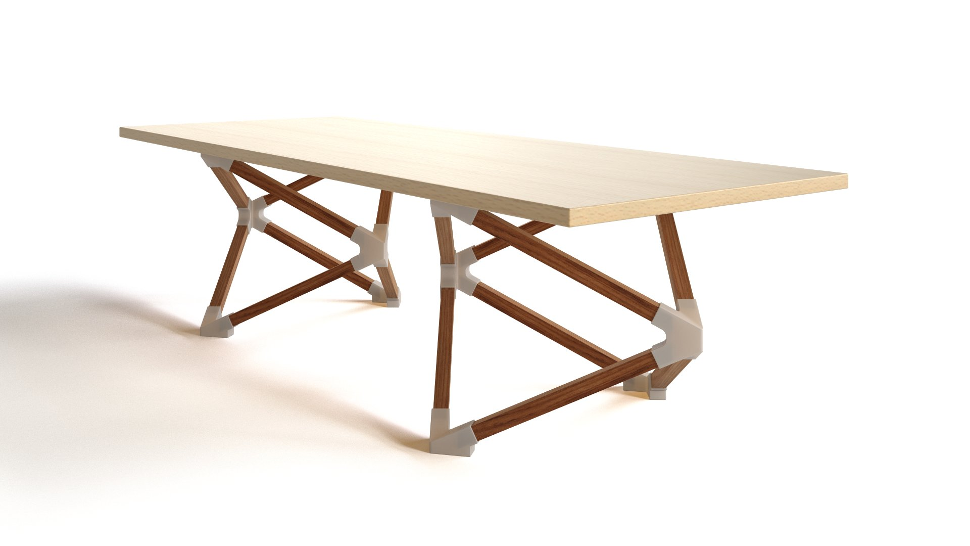 HEDRON coffee table by Benjamin Migliore