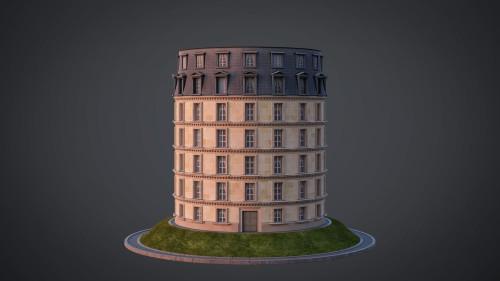 Neoclassical facade - A07