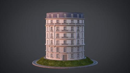 Neoclassical facade - A06