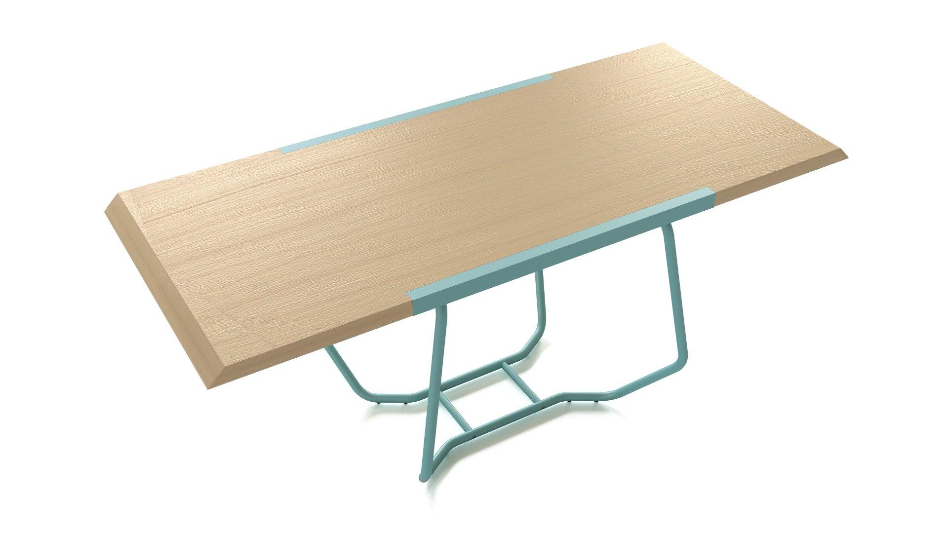 Dual table by Luca Binaglia