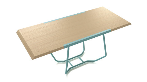 Dual table by Luca Binaglia