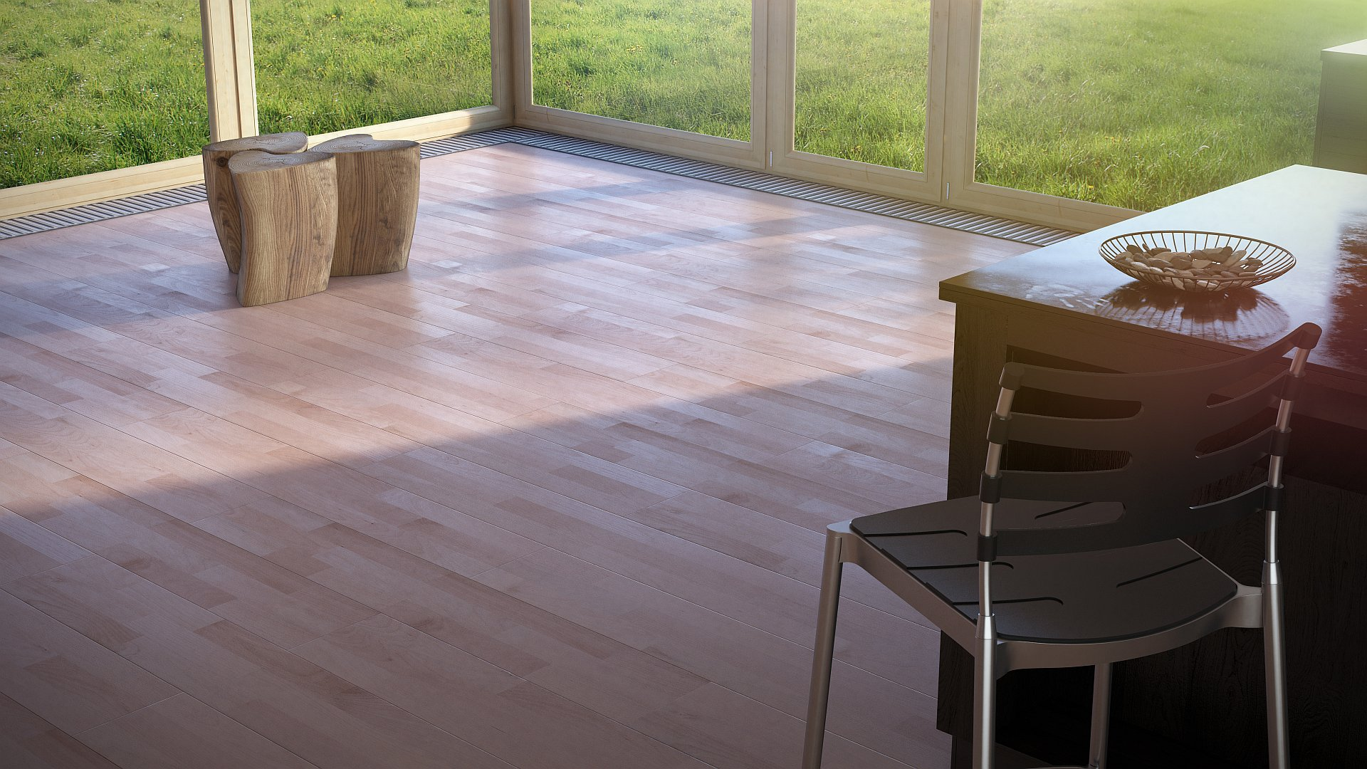 Beech - wooden planks