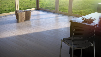 Lakeland Akazie Wooden planks