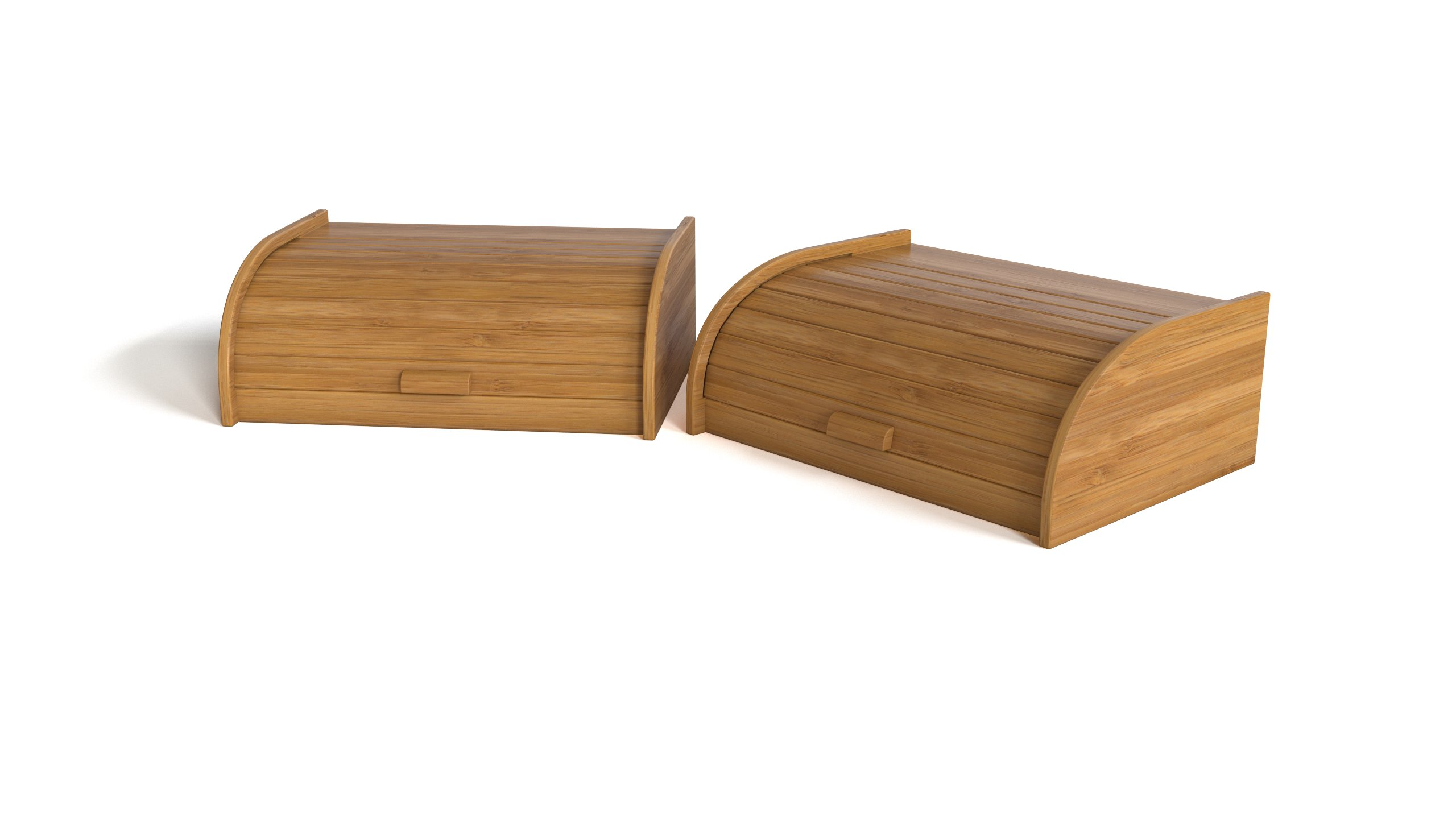 Wooden breadbin - WOODY