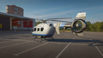 Free helicopter 3D model