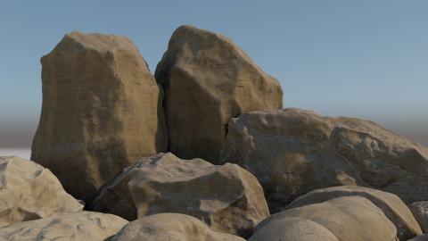 Sandstone rocks