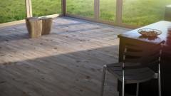 Hemlock wooden floor texture