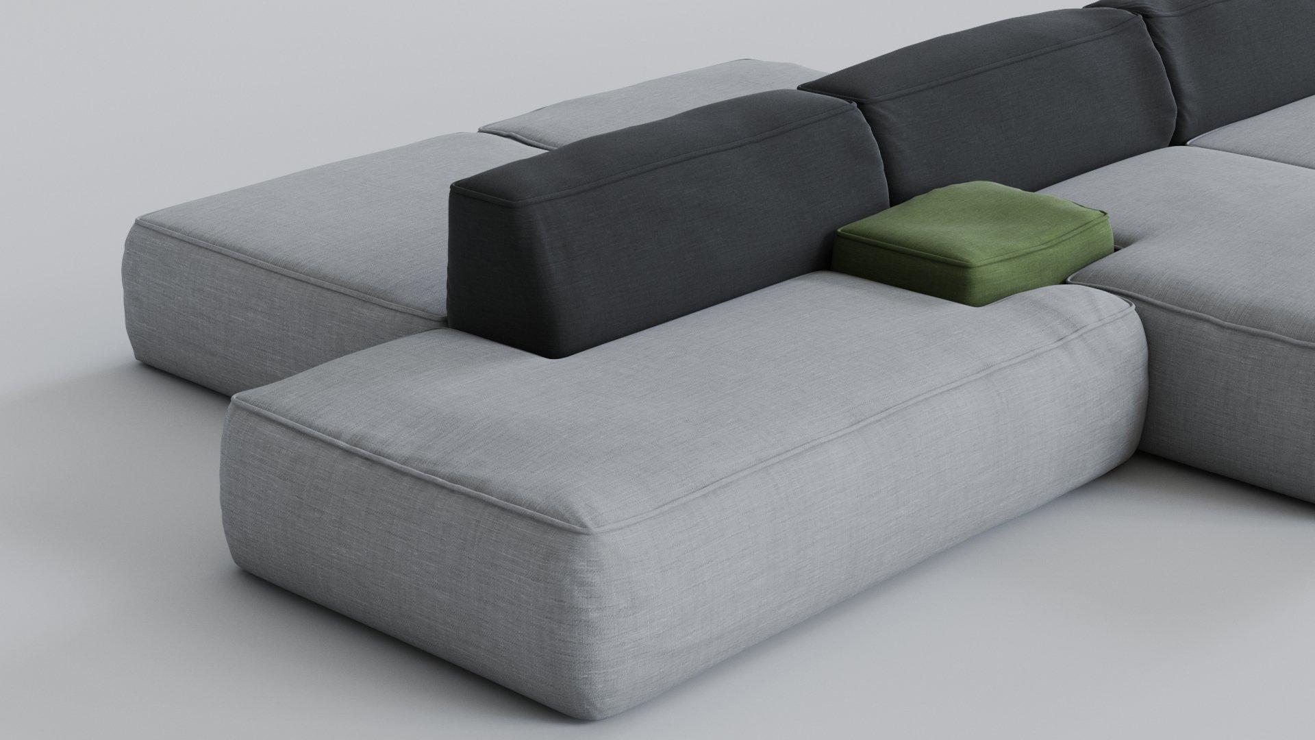 Lema Cloud Sofa Model