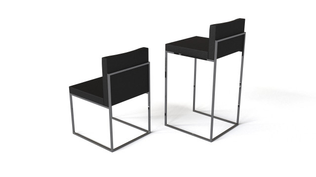 Calligaris Even chair and bar chair