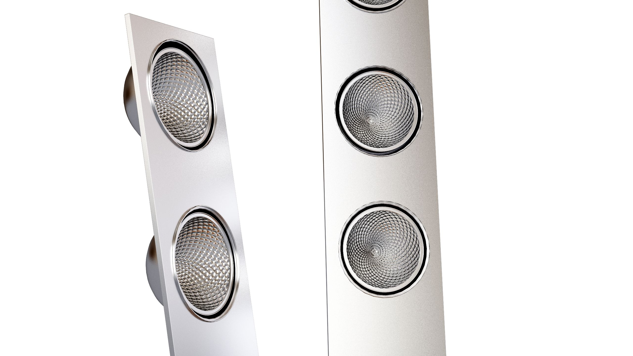 Aton Lamp 4LxAR111-TI/IN Vertical Floor
