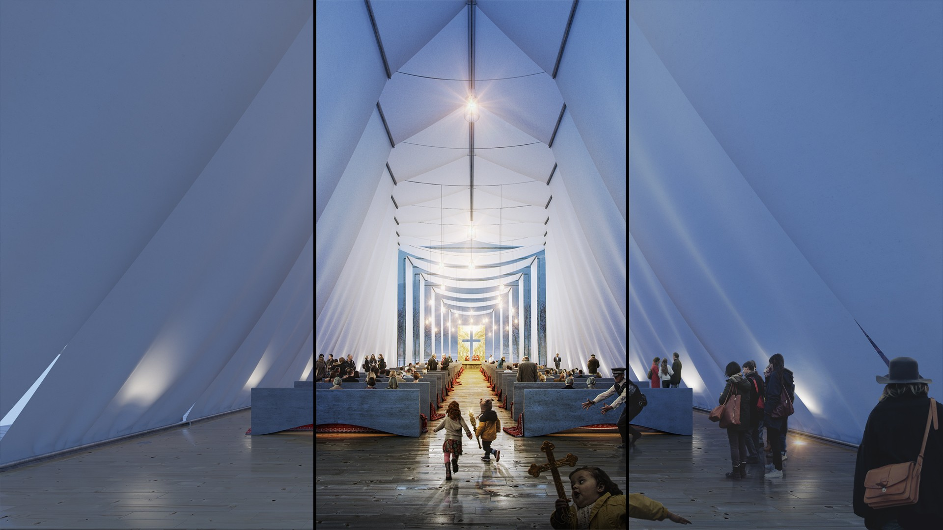 PSD - Wind Chapel Interior
