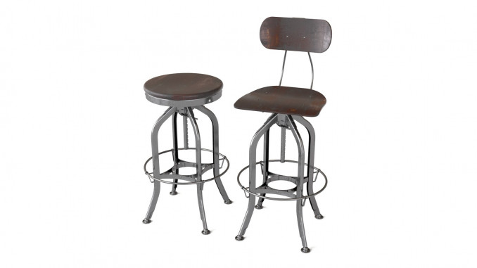 RH Vintage Toledo bar chair