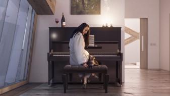 Yamaha U1A Piano