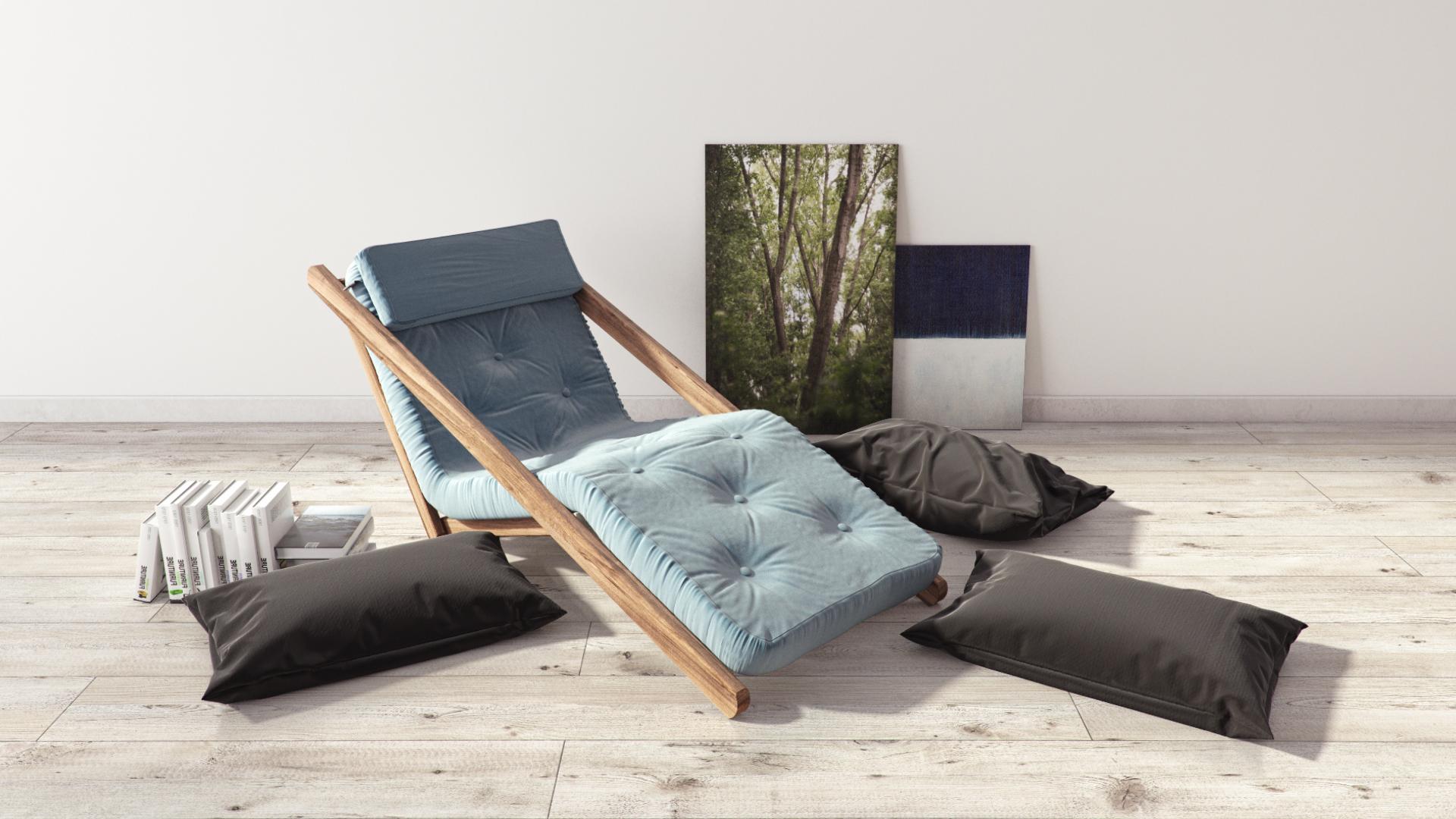 futon lounger chair