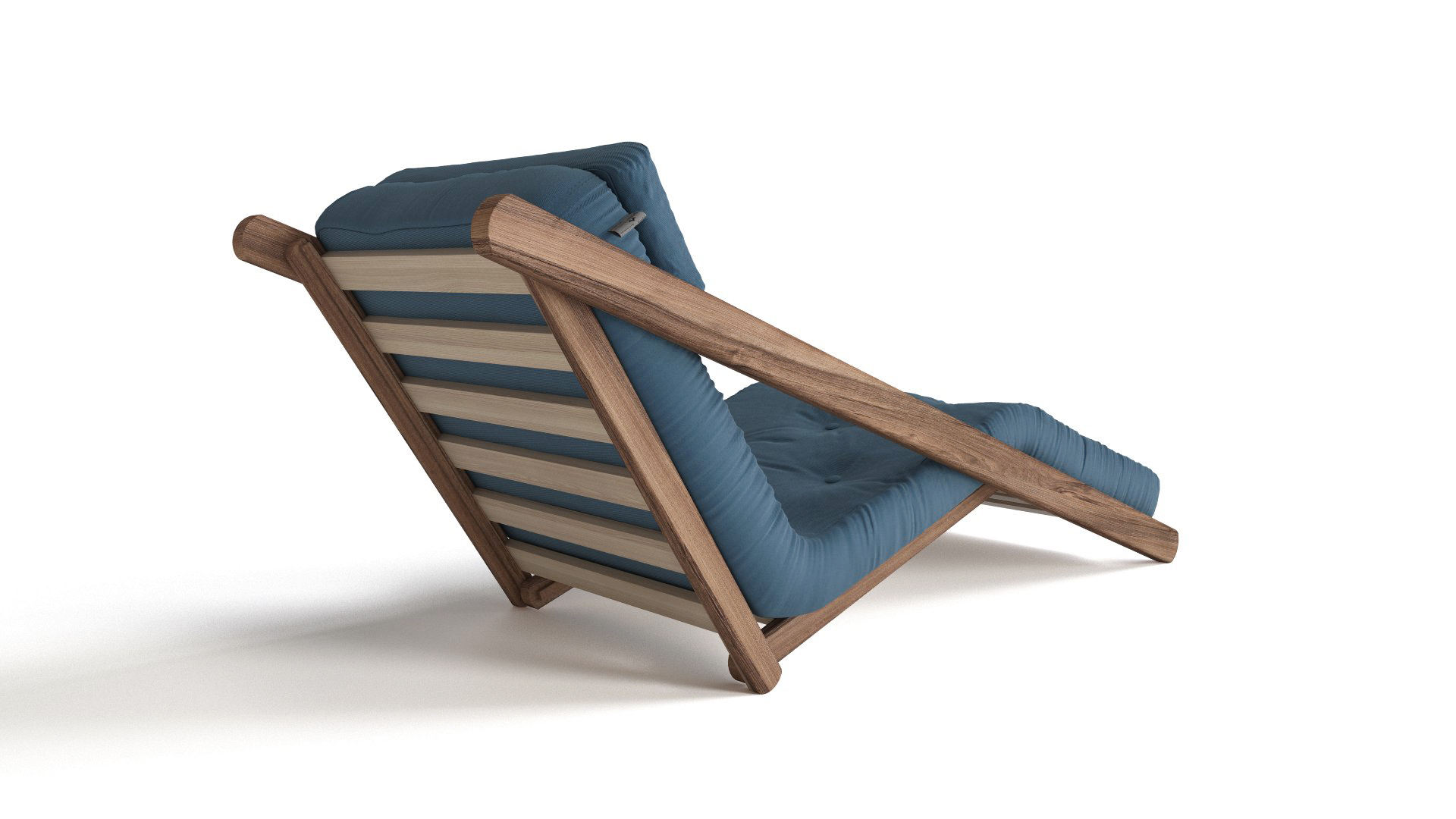 Figo futon lounger flyingarchitecture for Meuble japonais futon