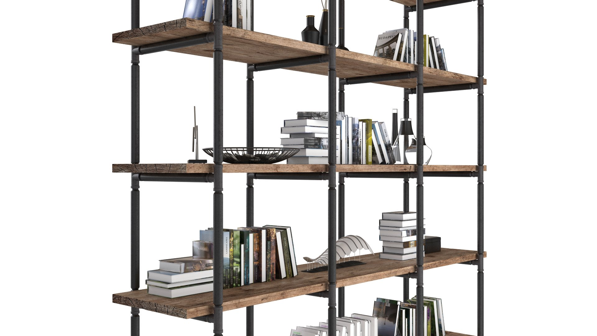 Industrial Shelves | FlyingArchitecture