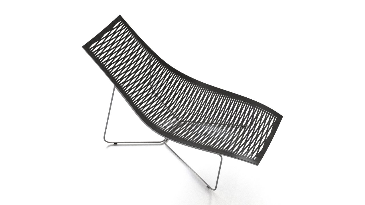York chaise lounger flyingarchitecture for Chaise york