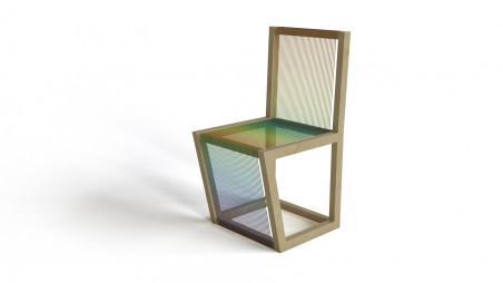 Kitchen wire chair