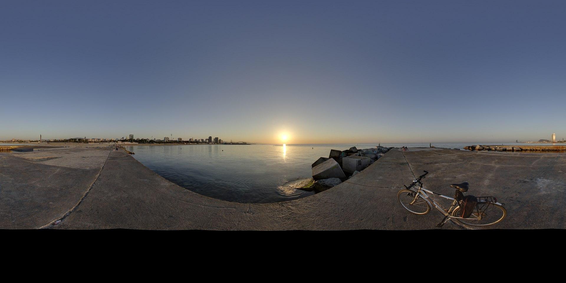 DBrenders HDRI: Free Golden hour 01 Panorama