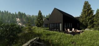 Realtime walkthrough: Lake Cabin introduction
