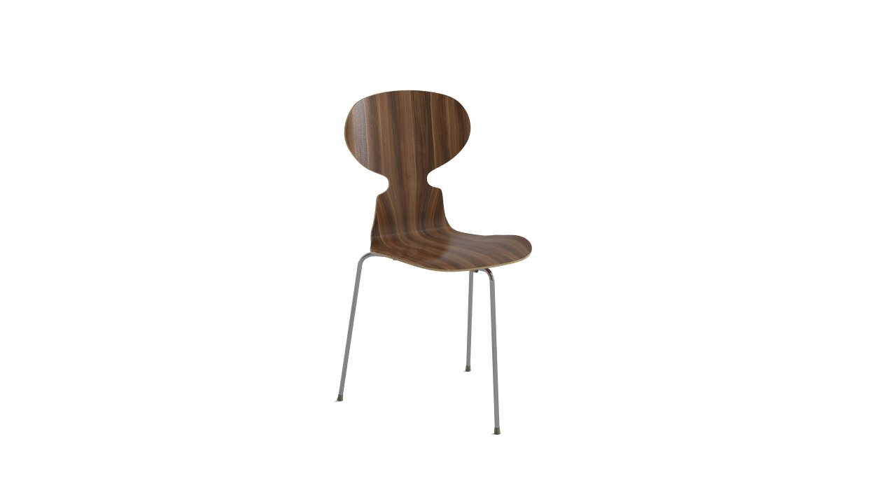 ant chair by arne jacobsen flyingarchitecture. Black Bedroom Furniture Sets. Home Design Ideas