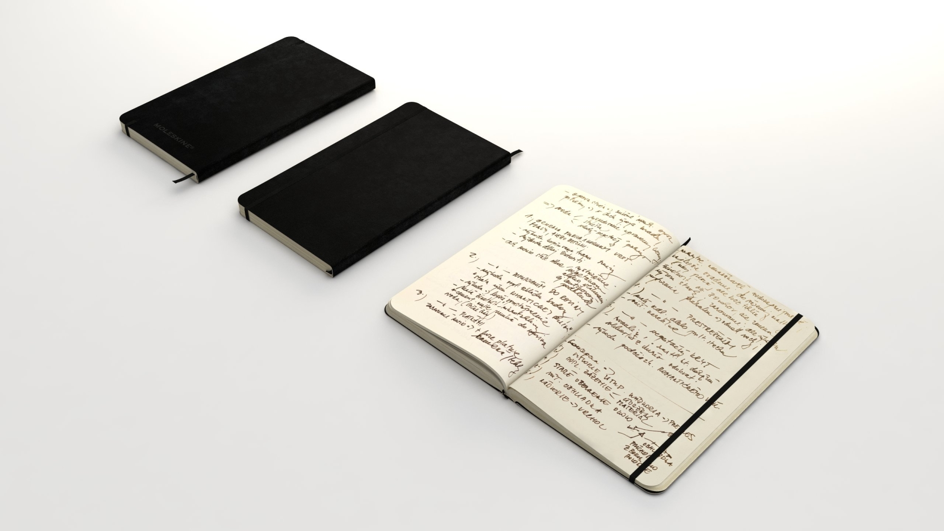Moleskine classic notebook 13x21cm | FlyingArchitecture