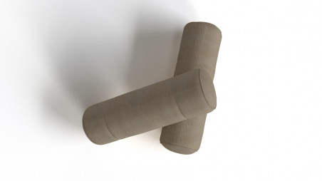 Cylindrical pillow