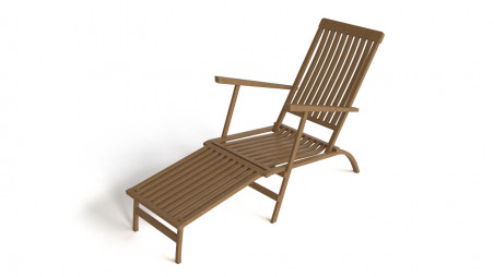 Patio deck chair