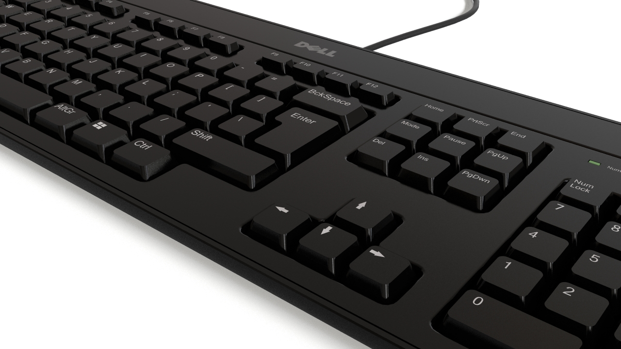 Dell Keyboard Flyingarchitecture