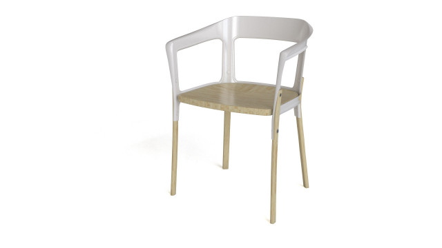 Steelwood chair