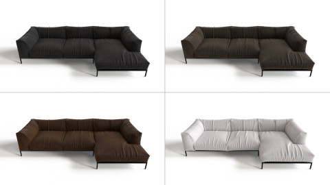 Leather Sofa 01