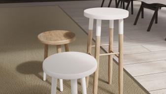 Hübsch stools